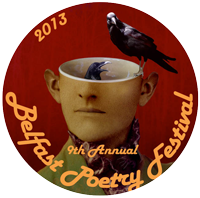 Belfast Poetry Festival Commemorative Button 2013